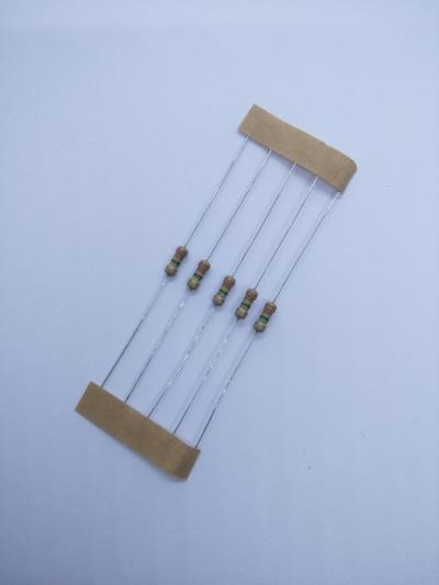 10 PCS 3.3M ±5% 0.25W, Through Hole Resistor