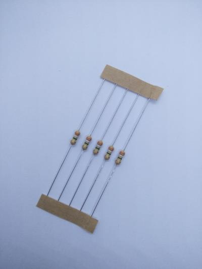 10 PCS 3.9M ±5% 0.25W, Through Hole Resistor