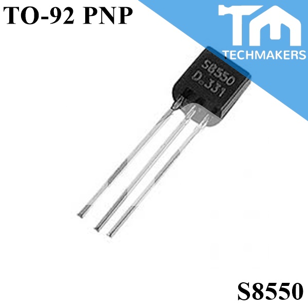 10 pcs of S8550 Transistor PNP TO-92 Small Signal Amplifier Switch