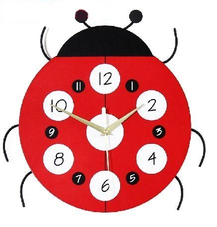 100% Brand New Modern Creative Design wall clock,BUG