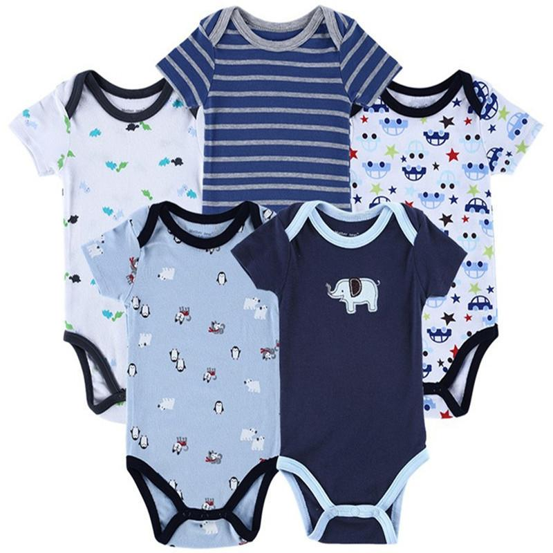 100 Cotton Baby Boy 5in1 Pack Romper End 5 1 2019 1 15 Am