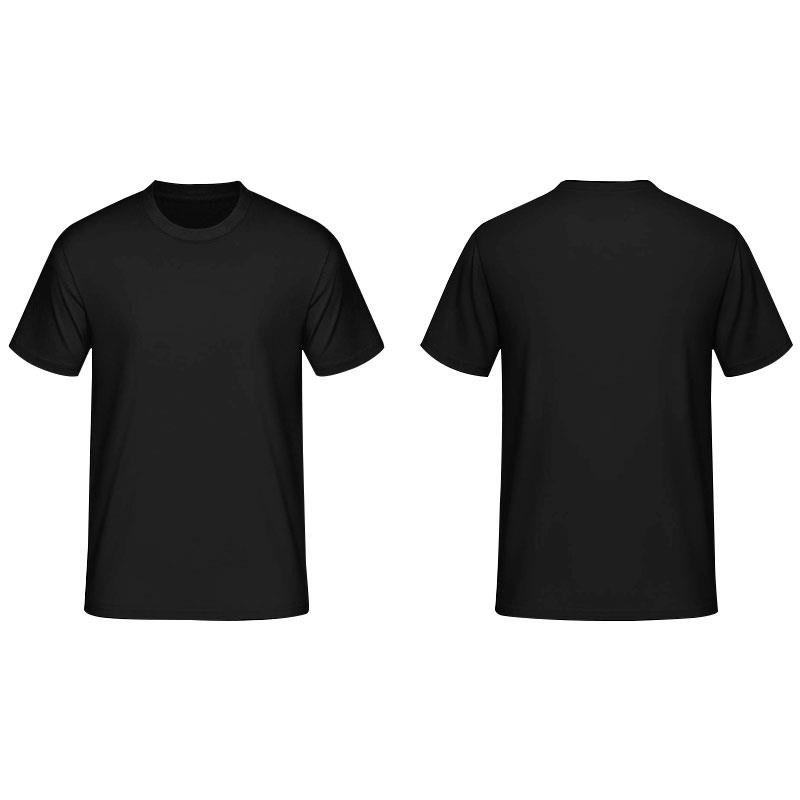 100% Cotton Black plain Round Neck T- (end 3/2/2018 9:15 PM)