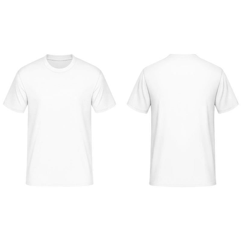 100% Cotton White plain Round Neck T- (end 3/2/2018 9:15 PM)