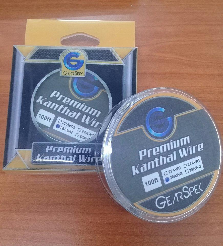 100 ft Gauge AWG Premium Kanthal Rou (end 3/20/2019 5:15 PM)