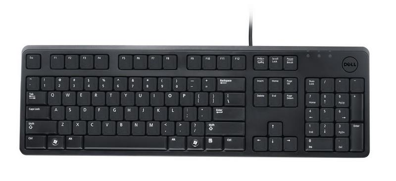 100% Genuine Dell KB212-B QuietKey USB Keyboard