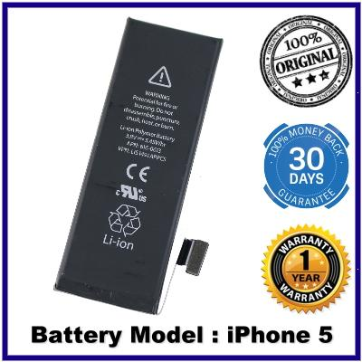 100% Genuine Original internal Battery Apple iPhone 5 Battery