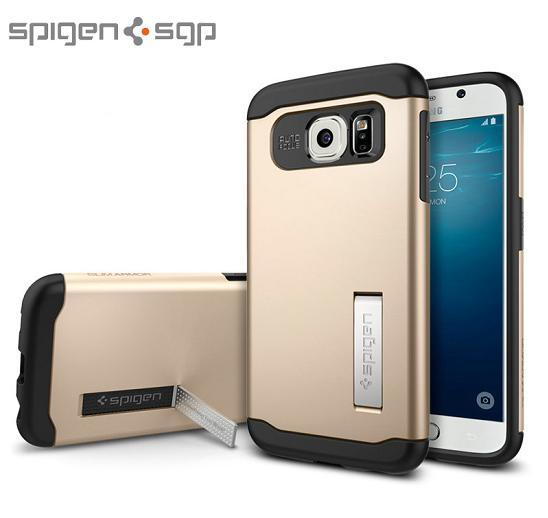 100% Genuine Spigen SGP Samsung Galaxy S6 Slim Armor Case Cover