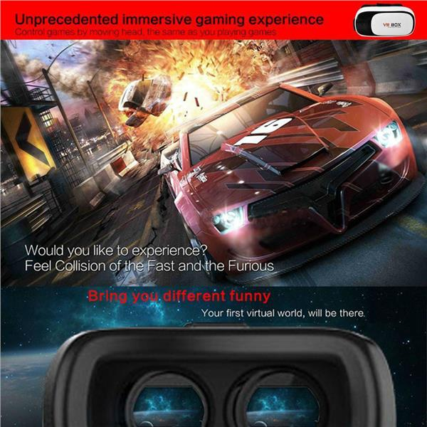 100% Genuine VR Box II Version 2 Virtual Reality 3D Glasses VRBOX Gear