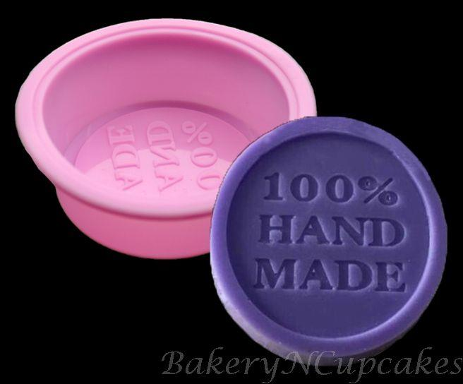 100% Hand Made Silicone Mould (Round)