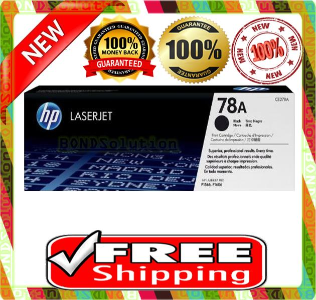 100% NEW HP 78A / CE278A Toner M1530 1536 P1566 1606 (FREE SHIPPING)