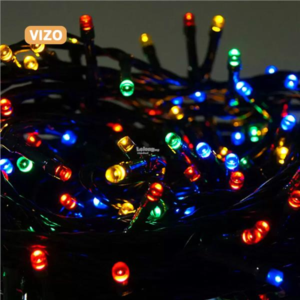 New 100 LED Outdoor Solar Powered String Light Garden Christmas Party