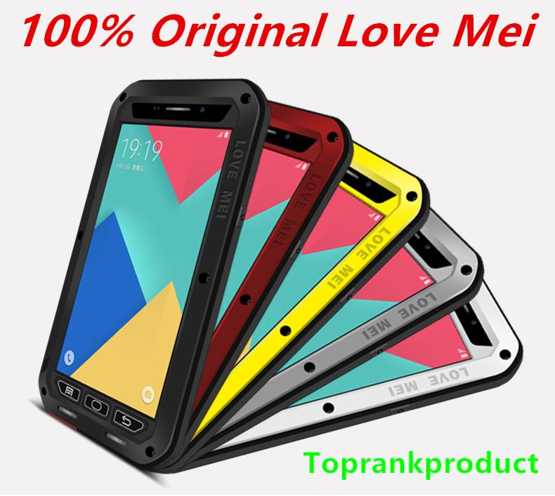 100% Love Mei Samsung Galaxy A9 Pro 2016 ShakeProof Case Cover Casing