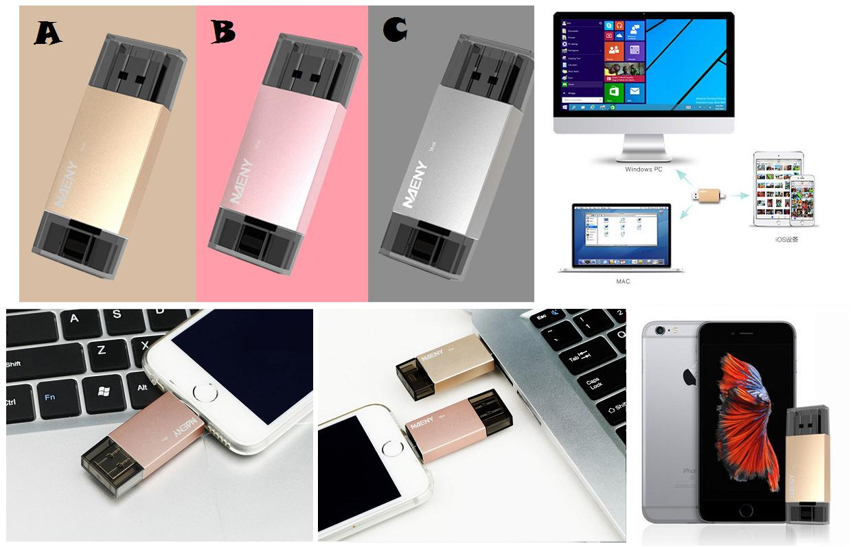Iphone Otg Price Harga In Malaysia Lelong Flashdisk Samsung 64gb 100 Naeny Ipad Usb Iflash Flash Drive