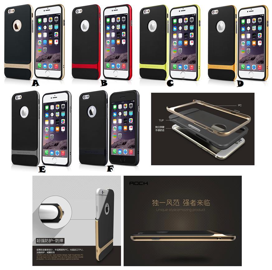 best website 9619f ac6c9 100% ORI iPhone 6 6S Plus ROCK Royce Sleek Thin Cover Case *FREE SP*