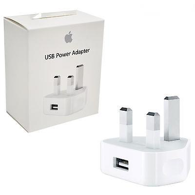 sale retailer d1239 c03e4 100% ORIGINAL Apple 5W USB Power Adapter Charger iPhone X 8 7 6S Plus