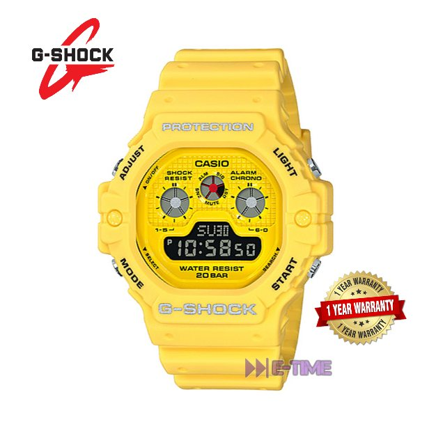 100 Original Casio G Shock Dw 5900rs 9d Yellow Sport Watch Dw 5900rs