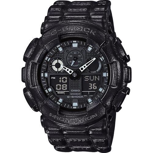 100% Original CASIO G-SHOCK GA-100BT-1AER