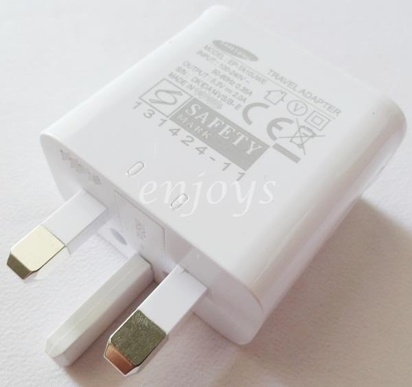 100% ORIGINAL Charger Adapter Head EP-TA10UWE Samsung Note 3 N9005 S5