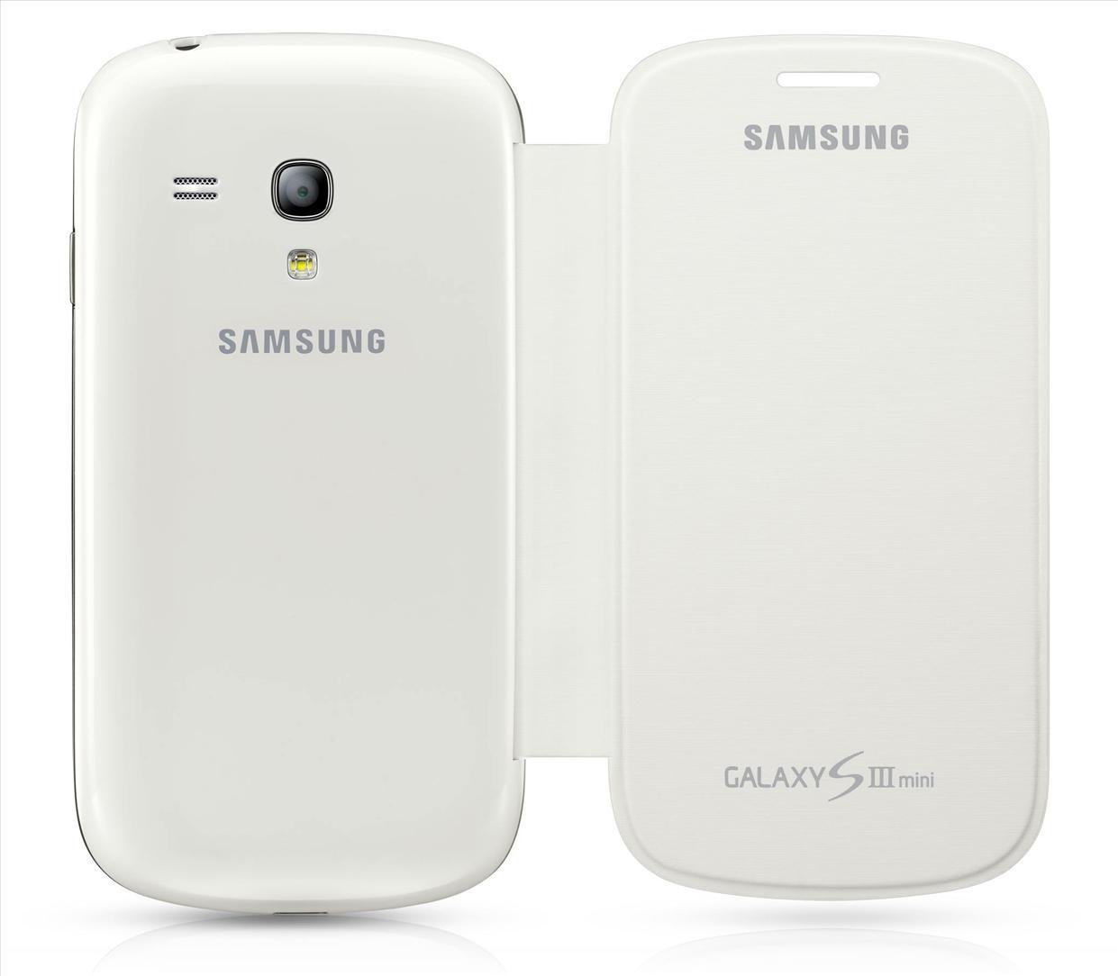 sports shoes fe7f3 c0e2e 100% ORIGINAL Flip Cover Pouch Samsung I8190 Galaxy S III mini ~White