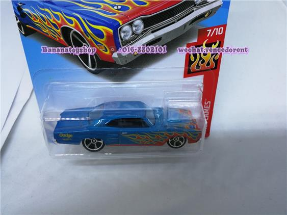 100% Original Hotwheels Series 206/365 '69 DODGE CORONET SUPERBEE