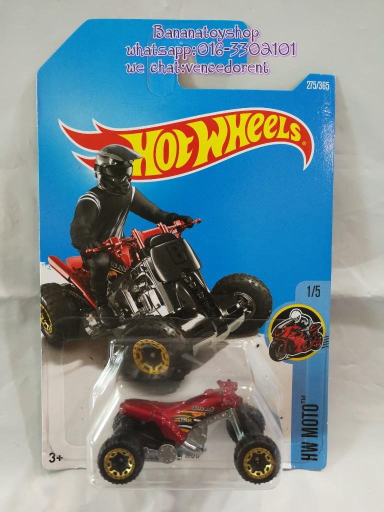 100% Original Hotwheels Series 275/365 QUAD ROD HW MOTOR. ‹ ›