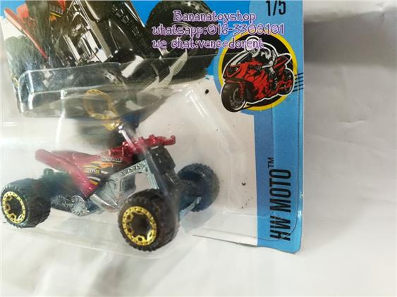 100% Original Hotwheels Series 275/365 QUAD ROD HW MOTOR