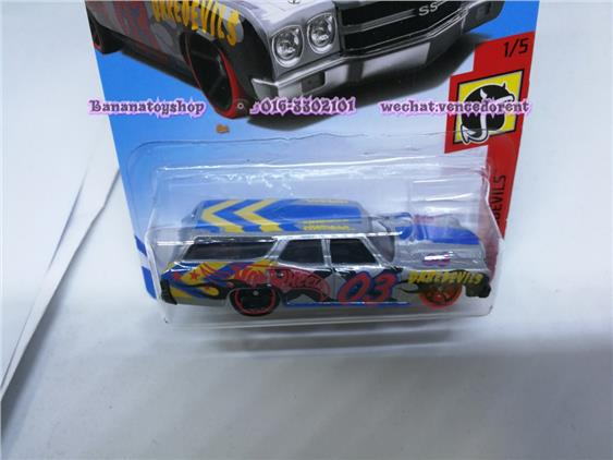 100% Original Hotwheels Series '70 CHEVELLE SS WAGON