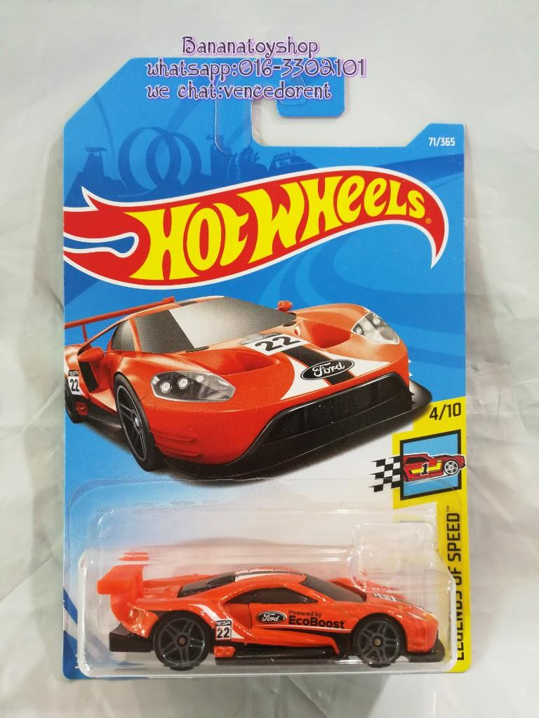 Original Hotwheels Series   Ford Gt Race