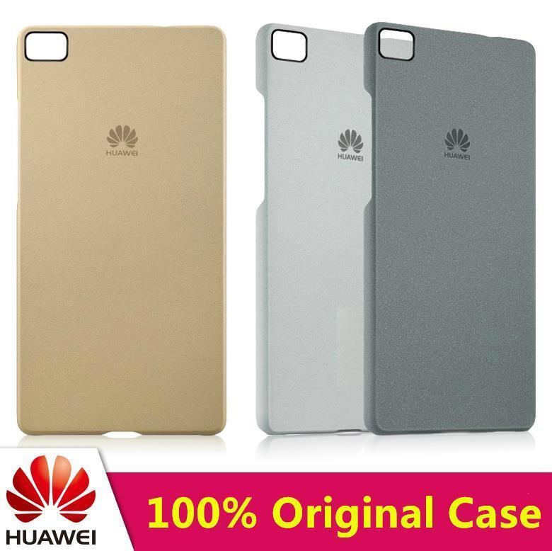 100% Original Huawei P8 / Lite Hard Back Case Cover Casing + Gift