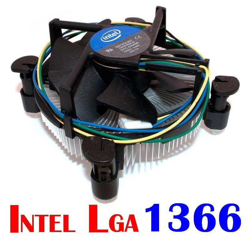 100% ORIGINAL INTEL LGA 1366 CPU FAN & HEAT SINK (NEW)