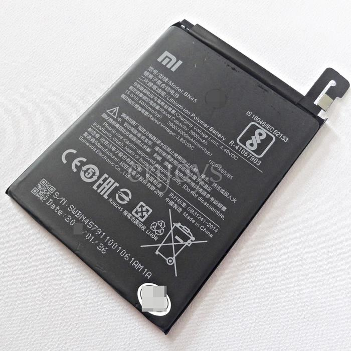 100% ORIGINAL Internal Battery BN45 Xiaomi Redmi Note 5 /Pro ~4000mAh