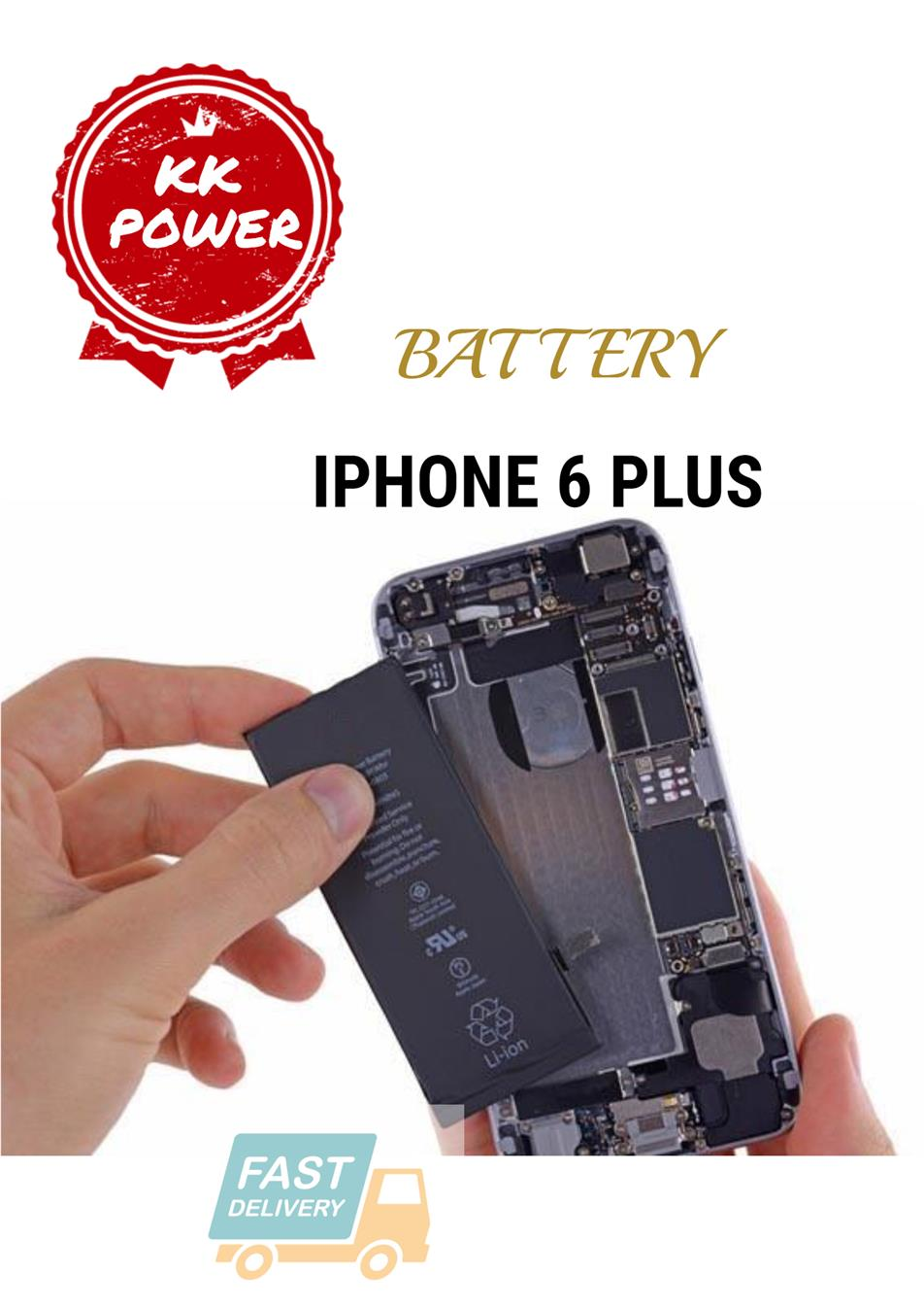 100%ORIGINAL IPHONE 4/4S/5/5S/6/6P/6S/6SP/7/7+ BATTERY@6mth warranty