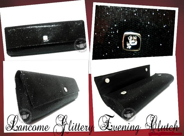 100% Original - Lancome Glittery Evening Clutch