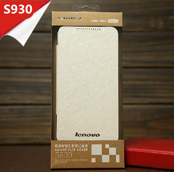 100% Original Lenovo S930 AutoWakeup PU Leather Case Cover +Free SP