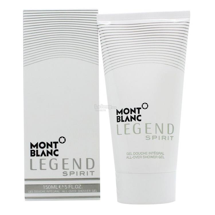 *100% Original*M.Blanc Legend Spirit All-Over Shower Gel 150ml/5.0oz