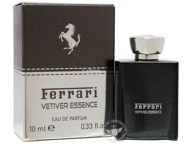 *100% Original Miniature**Ferrari Vetiver Essence 10ml EDP (Non-Spray