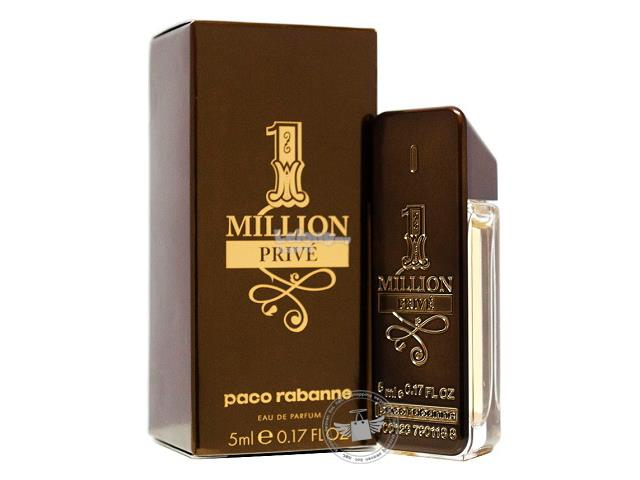 *100% Original Miniature**P.Rabanne 1 Million Prive 5ml EDP