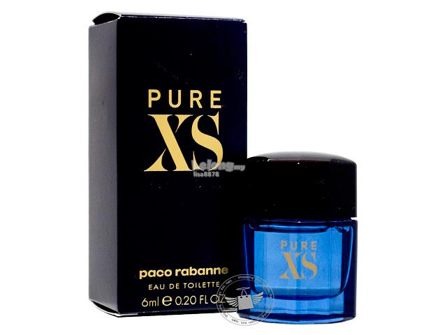 *100% Original Miniature**P.Rabanne Pure XS Men 6ml Edt