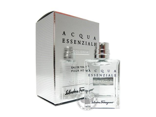 *100% Original Miniature**SF Aqcua Essenziale Colonia 5ml Edt