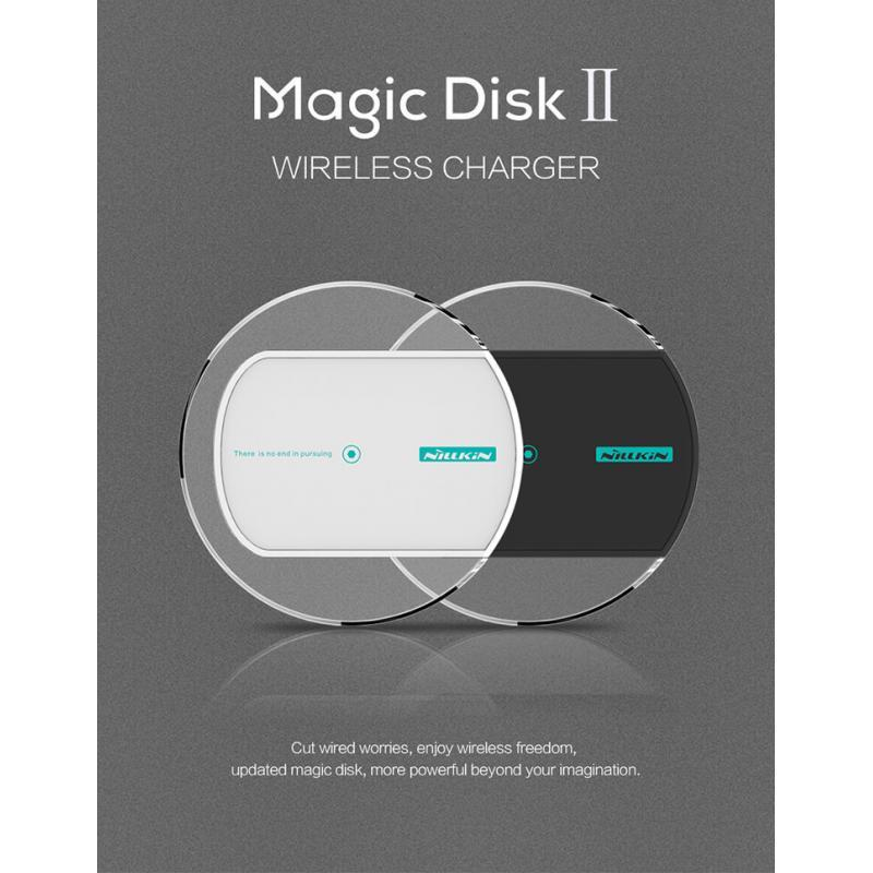 100% ORIGINAL Nillkin MC005 Magic Disk 2 II Qi Wireless Charger ~NEW