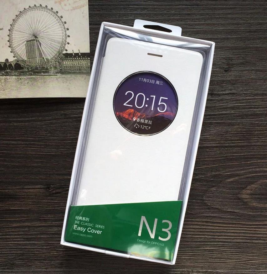 the best attitude 20ebb 5dc98 100% Original OPPO N3 AutoWakeup Flip Case Cover Casing + Free Gifts
