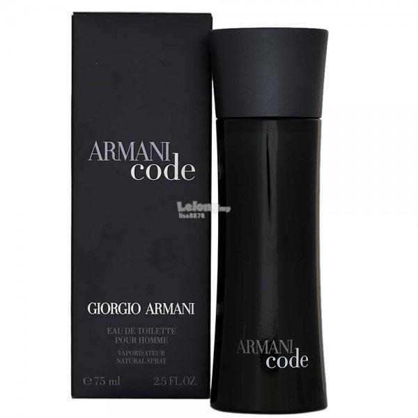 *100% Original Perfume*Armani Code Pour Homme 75ml Edt Spray