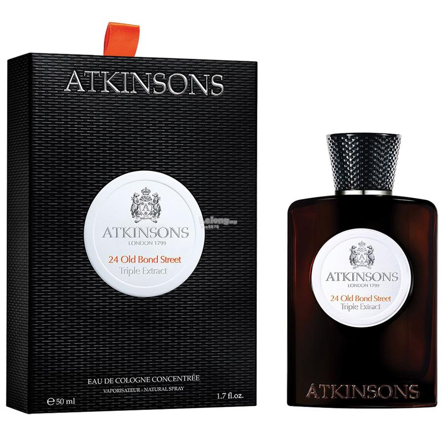 *100% Original Perfume*Atkinsons 24 Old Bond Street Triple Extract 50m
