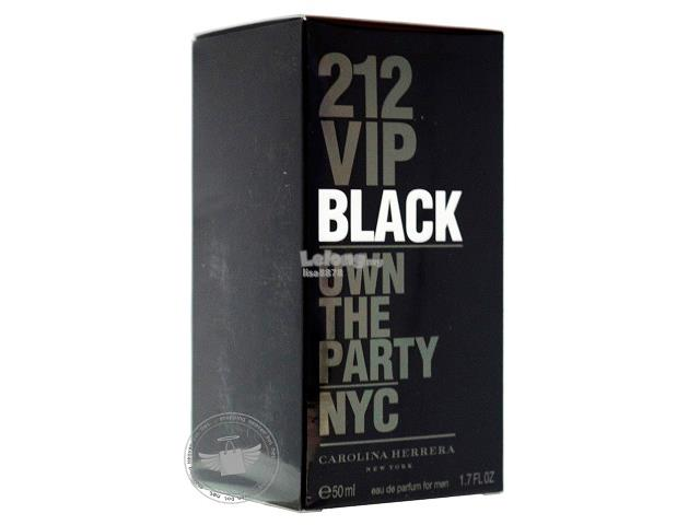 *100% Original Perfume*CH 212 VIP Black For Men 50ml EDP Spray
