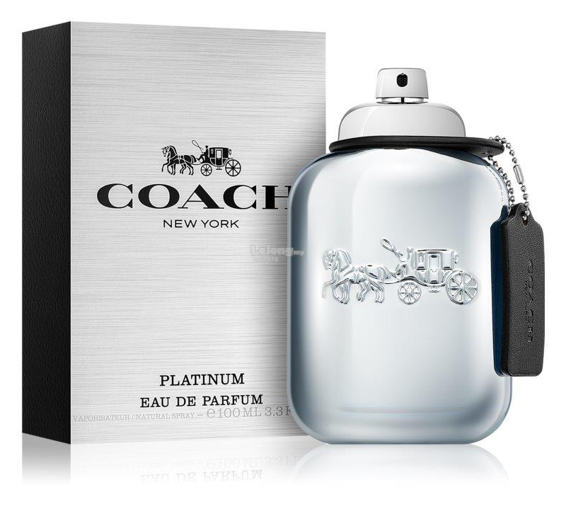*100% Original Perfume* COACH Platinum For Men 100ml EDP Spray