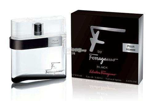 *100% Original Perfume*F by Ferragamo Black 100ml Edt Spray