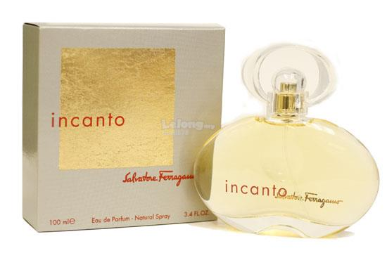 *100% Original Perfume*Incanto by Salvatore Ferragamo 100ml Edp Spray