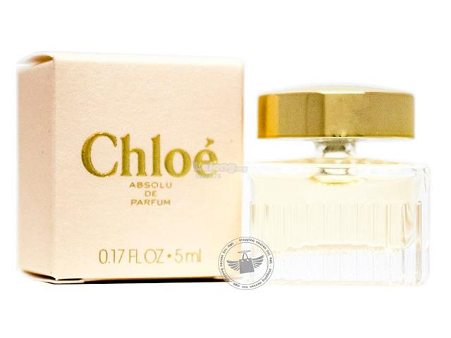 *100% Original Perfume Miniature*CHL0E Absolu De Parfum 5ml Edp