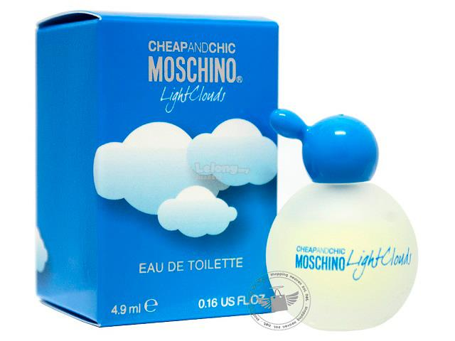 *100% Original Perfume Miniature*Moschino Cheap & Chic Light Clouds