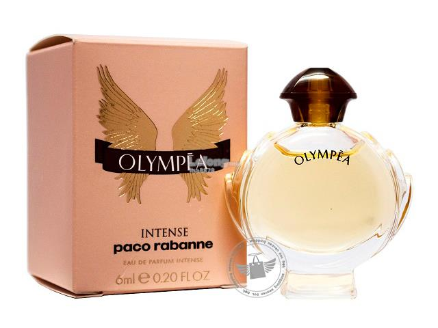 *100% Original Perfume Miniature*P.Rabanne Olympea Intense 6ml Edp